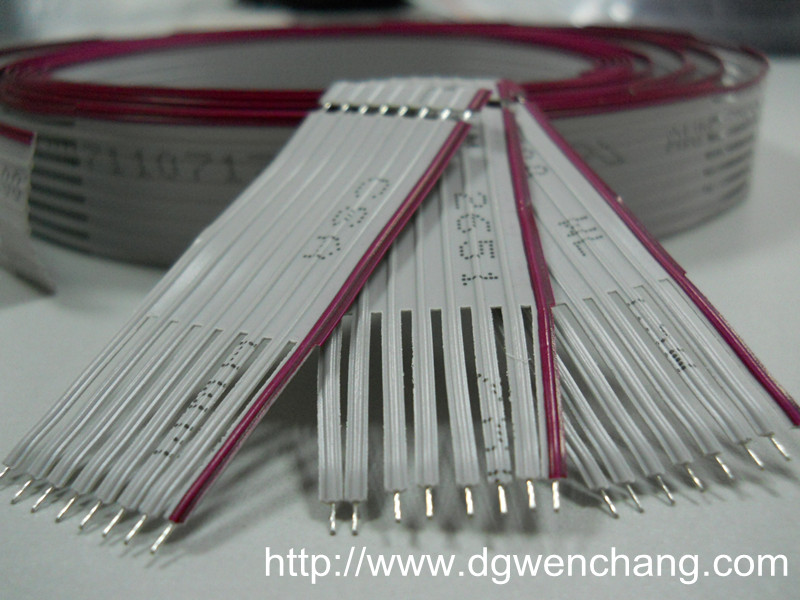 UL2651 Flat ribbon Wire(U Cut)